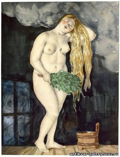 В бане (Русская Венера) 192...