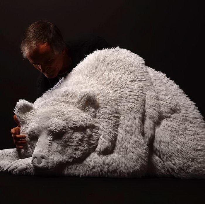 Бумажные скульптуры Келвина...