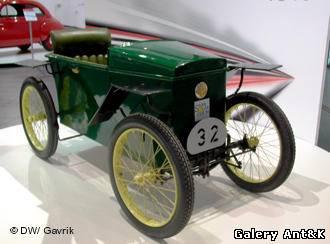 Электромобиль 1919 года вып...