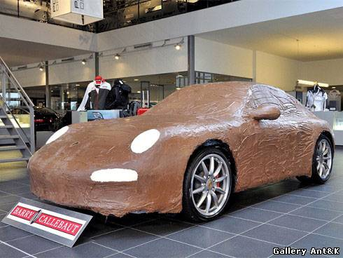 Шоколадный Porsche 911 Carr...