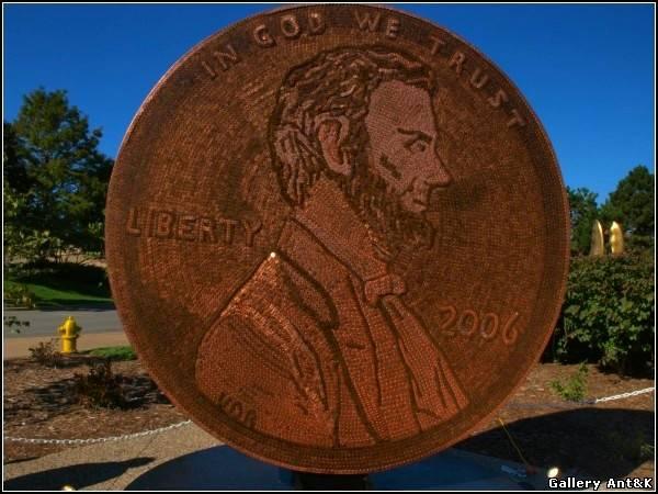 Монета из 840 тысяч монет.